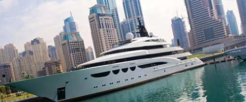 Select a Yacht for your Dubai Trip